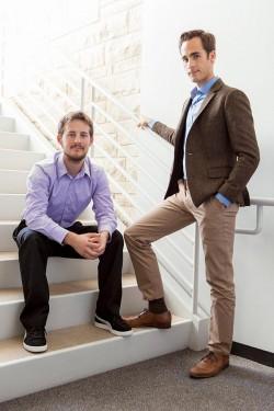Lloyd Minick '08 and Michael Hanan '10, Distinguished Young Alumni